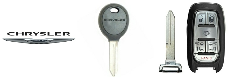 Chrysler Keys and Remotes | DM Locksmith Montreal