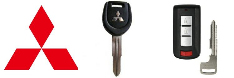 Mitsubishi Keys and Remotes | DM Locksmith Montreal